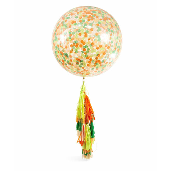 "36"" Viva La Fiesta Confetti Balloon, Decorative Balloons, Jamboree Party Box, Jamboree"
