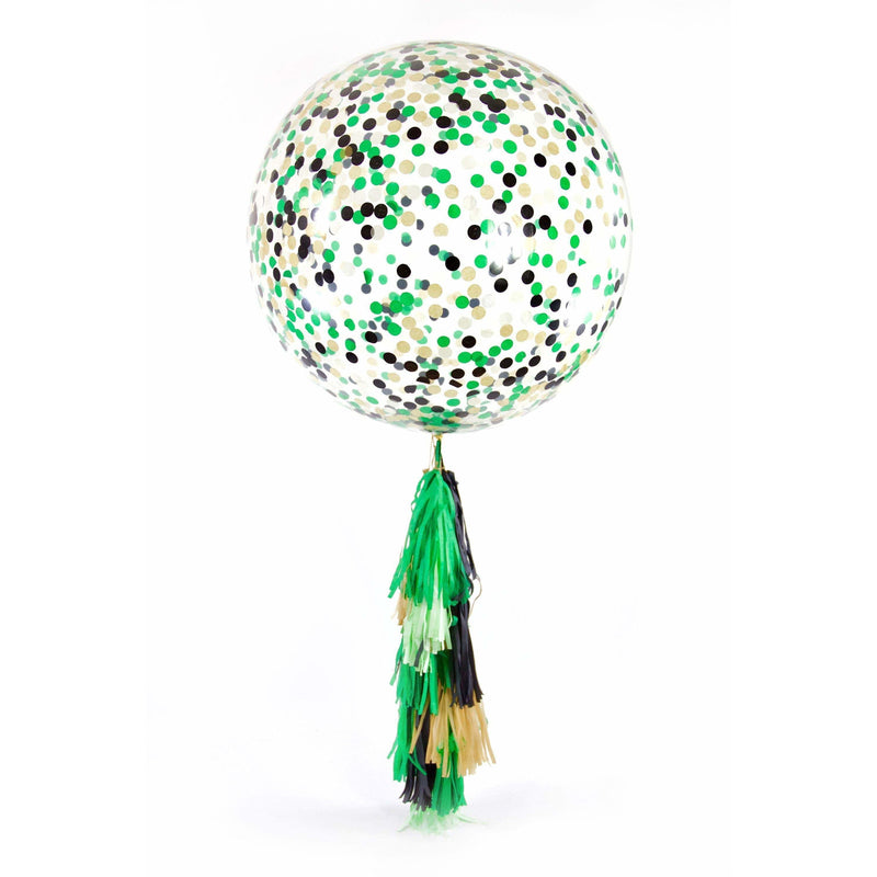 "36"" Where The Wild Things Are Confetti Balloon, Decorative Balloons, Jamboree"