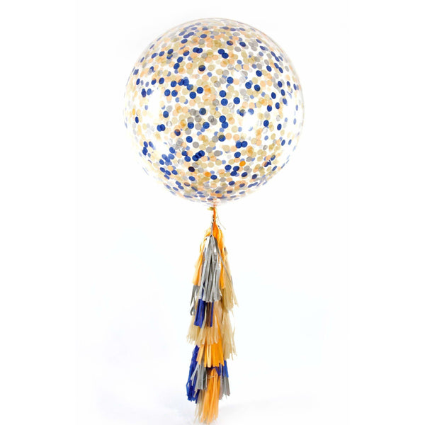 "36"" Wild One Confetti Balloon, Decorative Balloons, Jamboree"