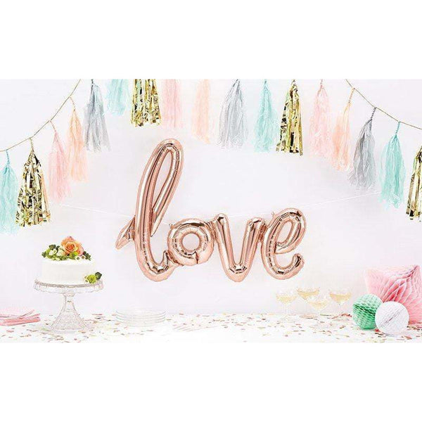 "40"" Giant LOVE Balloon, Decorative Balloons, Jamboree"
