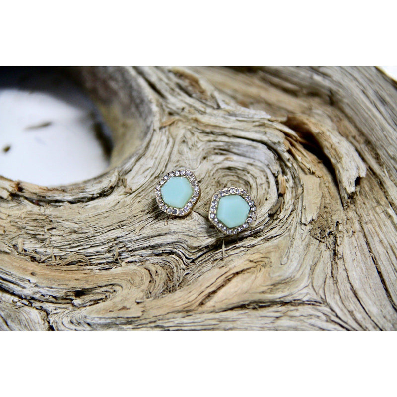The Aquamarine Earrings, Earrings, Jamboree