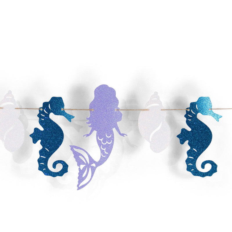Mermaid Tales Glitter Banner, Banners & Backdrops, Jamboree