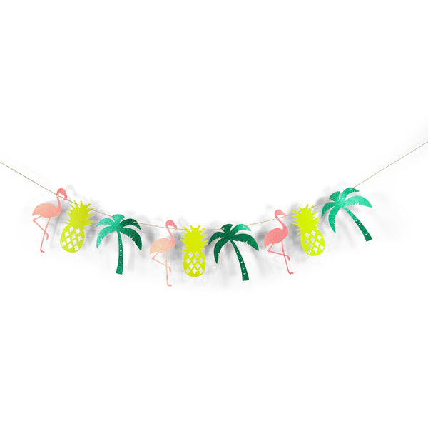 Flamingo/Pineapple Banner, Banners & Backdrops, Jamboree