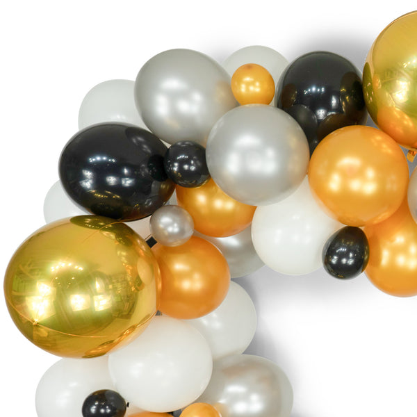 Midnight Glam Balloon Garland Kit, , Jamboree