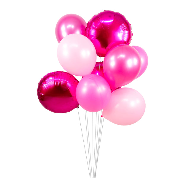 "Balloon Cluster - Hot Pink Blush Pearl Giant Balloons-""Hubba Bubba"" XL Party Prop, Girl Baby Shower, Princess, Bachelorette, Smash Cake Prop, , Jamboree Party Box, Jamboree"