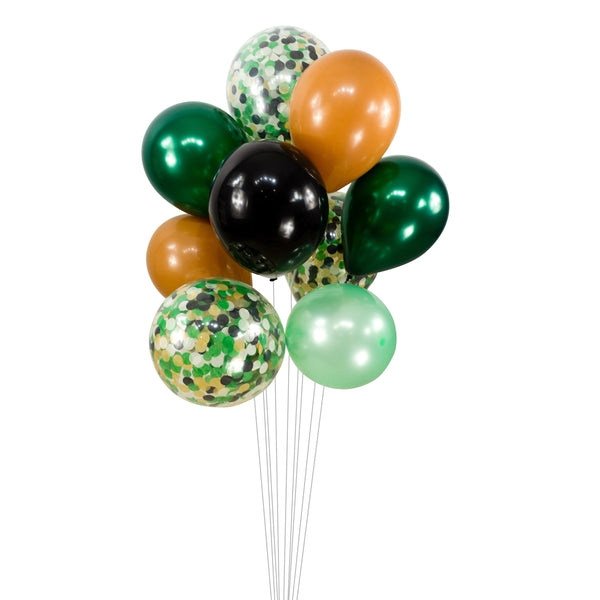 "Balloon Cluster - Green Cream Black Mint Giant Balloons- ""Where the Wild Things Are"", XL Party Prop, Boy Baby Shower, It's a Boy, Woodland, , Jamboree Party Box, Jamboree"