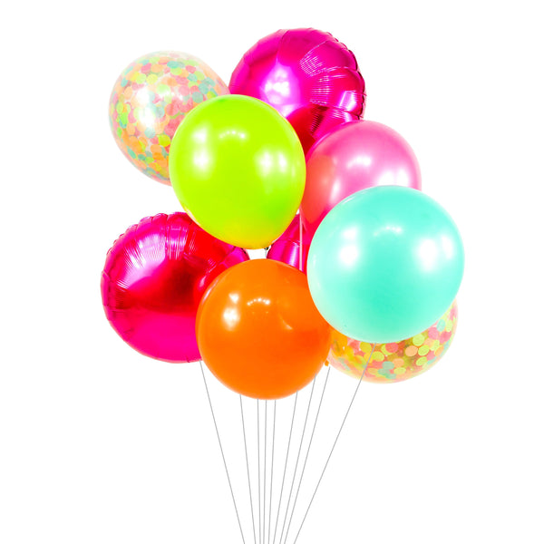 Tropical Tango Balloon Cluster, , Jamboree