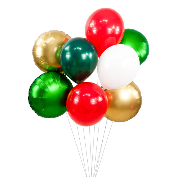 Mistletoe Kisses Balloon Cluster, , Jamboree