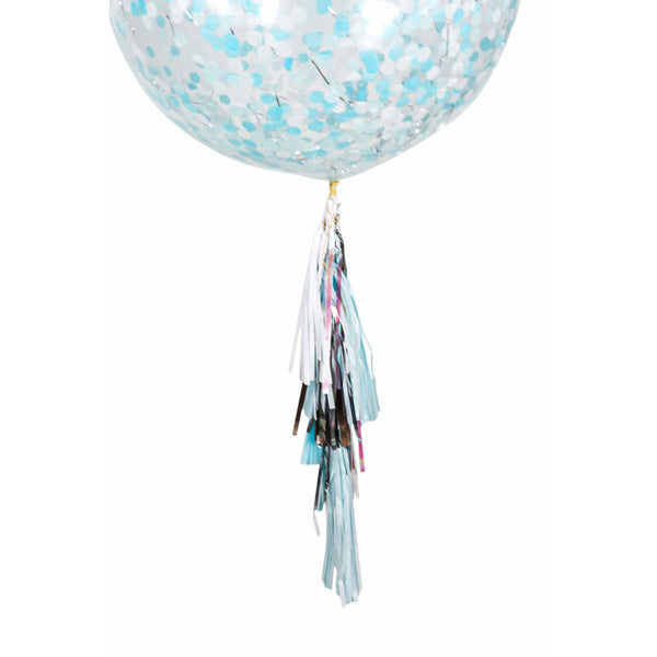 "36"" Elsa Confetti Balloon, Decorative Balloons, Jamboree"
