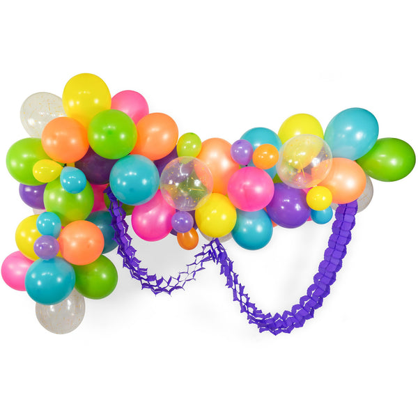 Electric Slide Balloon Garland Kit, , Jamboree