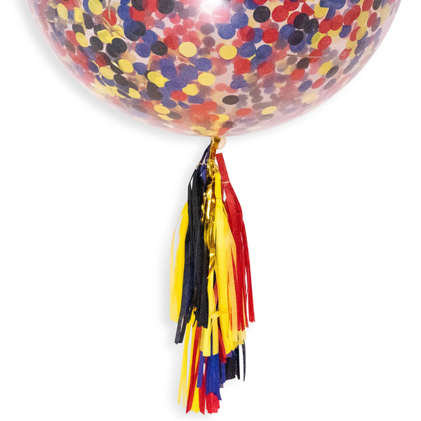 "36"" Superhero Confetti Balloon, Decorative Balloons, Jamboree"