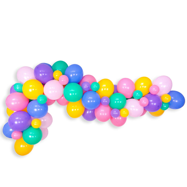 "Giant Balloon Garland Kit - Pink Mint Purple Yellow Blue Giant Balloon Arch - ""Donuts 4ever"" XL Photo Backdrop, Donut Theme, Donut Grow up"
