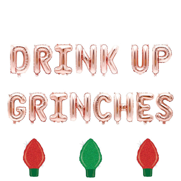 Drink Up Grinches Balloon Banner, , Jamboree