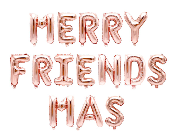 Merry Friendsmas Balloon Banner, , Jamboree