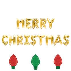 Merry Christmas Balloon Banner, , Jamboree