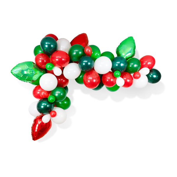 A Merry & Bright Christmas Balloon Garland Kit, , Jamboree