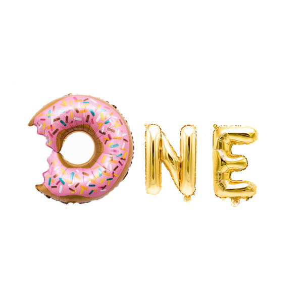 One with Donut Balloon Banner, , Jamboree