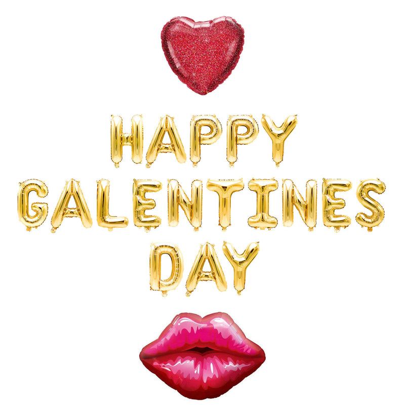 Happy Galentines Day Balloon Banner, , Jamboree