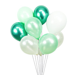Frosted Mint Balloon Cluster, , Jamboree