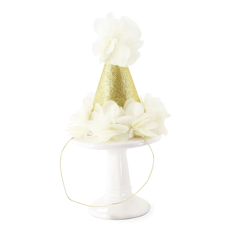 Cream Mini First Birthday Photoshoot Hat, Party Hats & Sashes, Jamboree