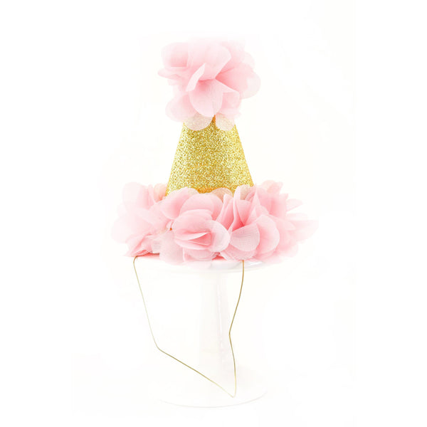 Pink Mini First Birthday Photoshoot Hat, Party Hats & Sashes, Jamboree