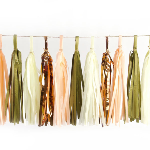 Champagne Kisses Tassels, Tassel Garlands, Jamboree