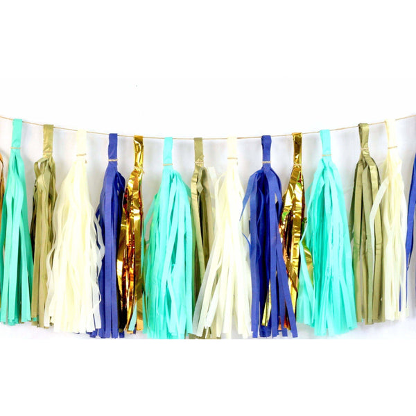 Coastal Cruiser Tassels, Tassel Garlands, Jamboree Party Box, Jamboree