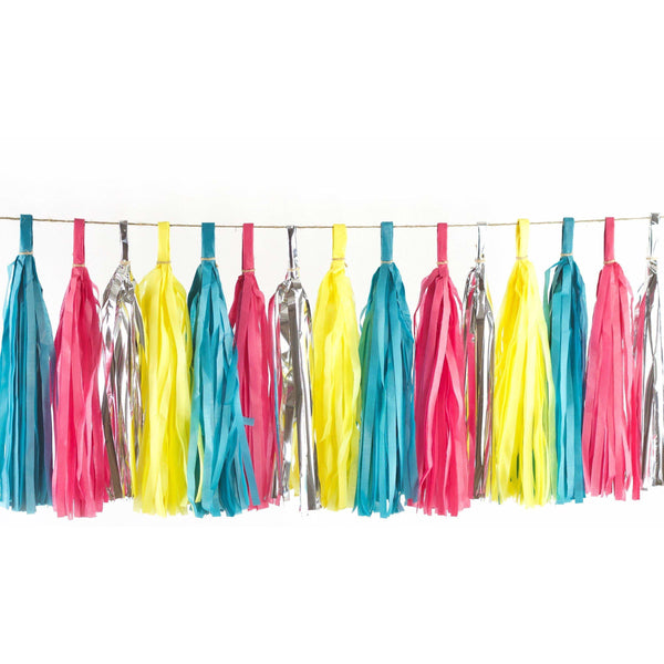 Confetti Cocktail Tassels, Tassel Garlands, Jamboree Party Box, Jamboree