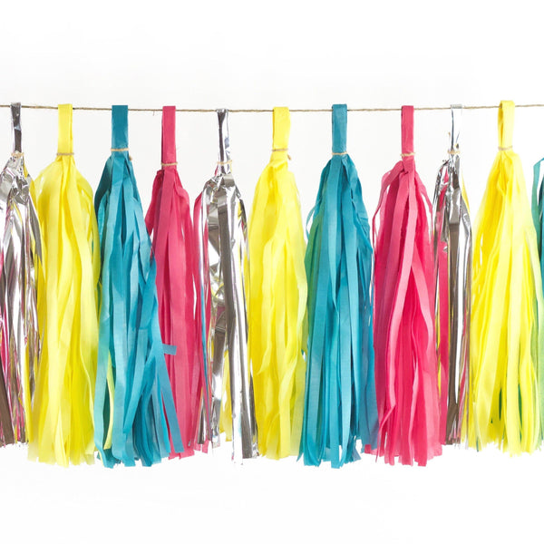 Confetti Cocktail Tassels, Tassel Garlands, Jamboree