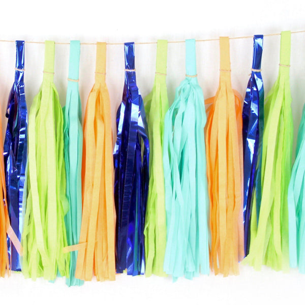 Dino Tassels, Tassel Garlands, Jamboree Party Box, Jamboree