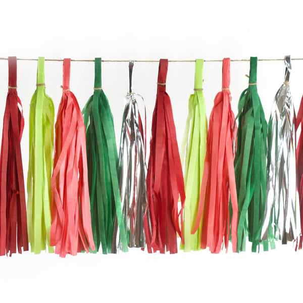 Dr. Seuss Christmas Tassels, Tassel Garlands, Jamboree