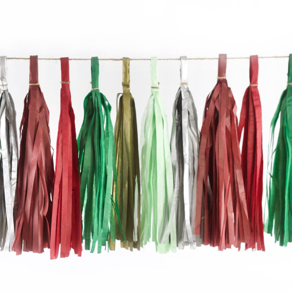 Enchanted Christmas Tassels, Tassel Garlands, Jamboree Party Box, Jamboree