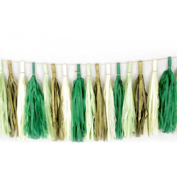 Forest Fancy Tassels, Tassel Garlands, Jamboree Party Box, Jamboree