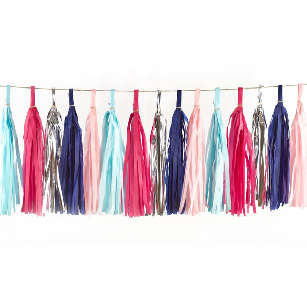 Gender Reveal Tassels, Tassel Garlands, Jamboree Party Box, Jamboree