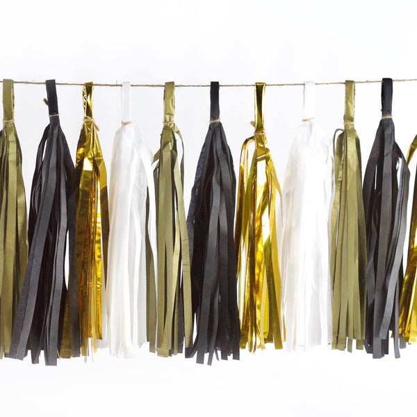 Midnight Glam Tassels, Tassel Garlands, Jamboree