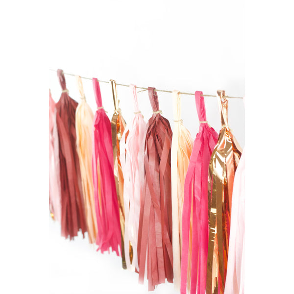 Tassel Garlands - Pretty N' Pink Tassels