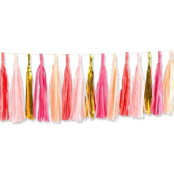 Tassel Garlands - Strawberry Sangria Tassels
