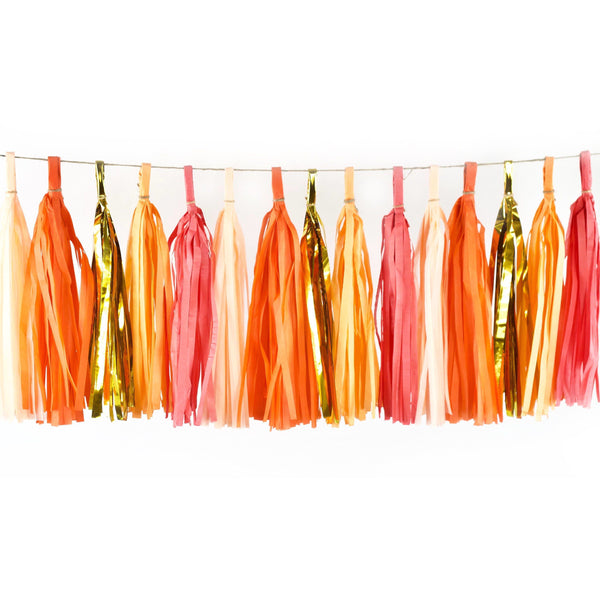 Tangerine Dream Tassels, Tassel Garlands, Jamboree