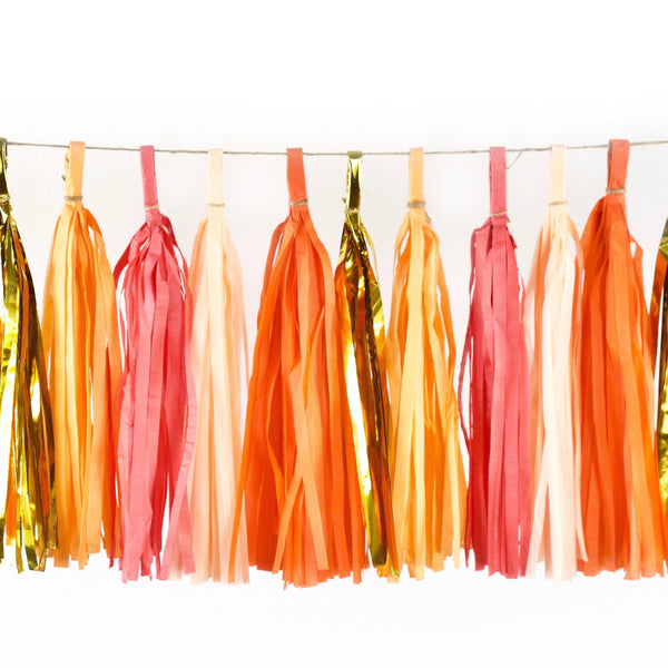 Tassel Garlands - Tangerine Dream Tassels