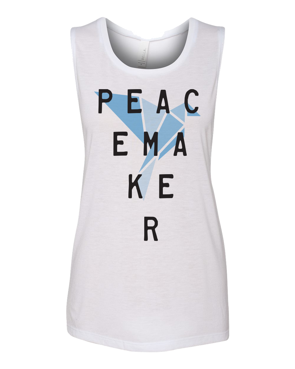 Peacemaker Muscle Tank - White
