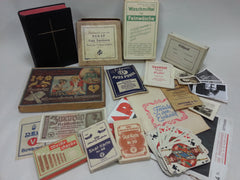 Original German Paper Items