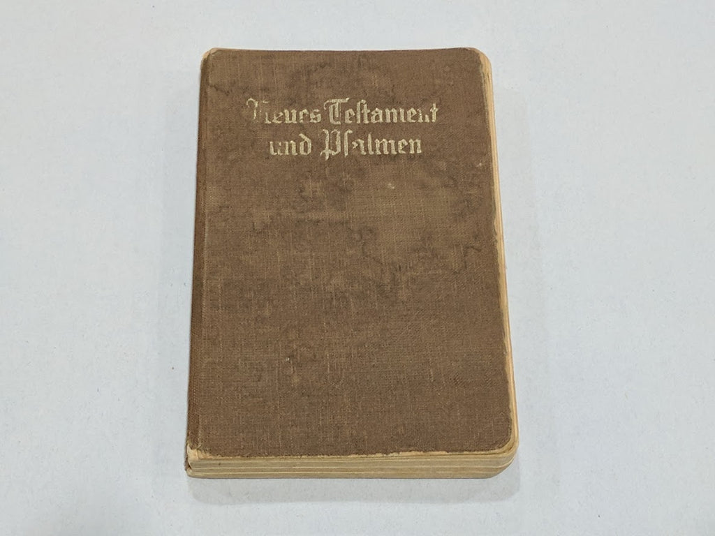 1941 WWII German New Testament Evangelical Bible with Psalms