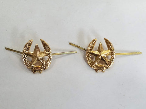 1969/1970 Soviet Motor Rifles Star Pin Set