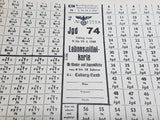 Original German Ration Card Youth Coburg 1945 Bread, Fat Jgd 74