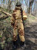Repro Soviet Tan and Brown Amoeba Camouflage (2- Piece Set)