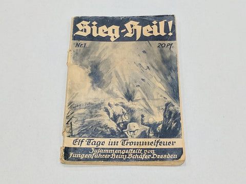 Original Pre-WWII German Sieg-Heil Book 1933