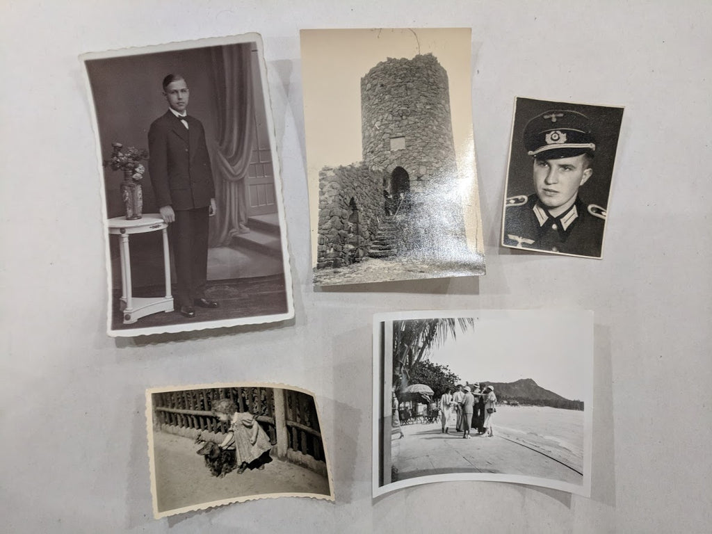 Original Vintage WWII 1930's / 1940's German Lot of 5 Photos