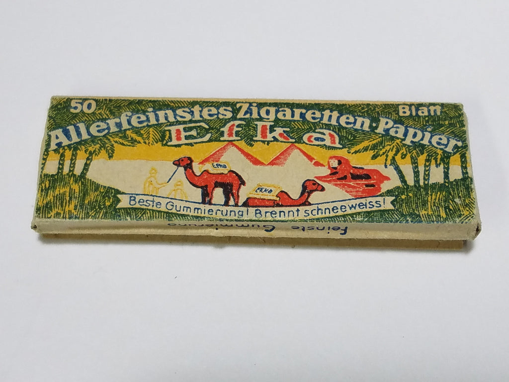 Original WWII German Cigarette Rolling Papers Efka