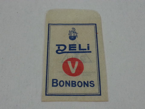 Original WWII German Deli V Bonbons Envelope