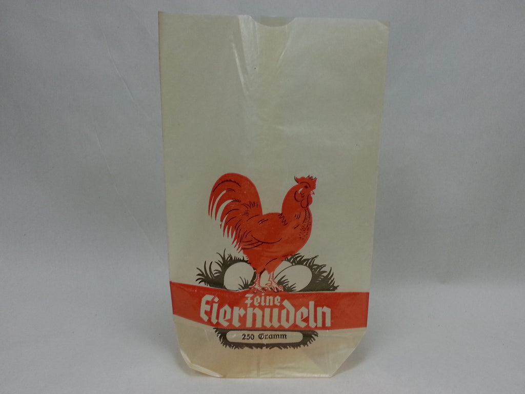 Original WWII German Egg Noodle Bag - feine Eiernudeln